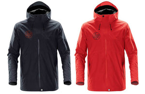 Black and Red Men's Lightning Shell Jacket