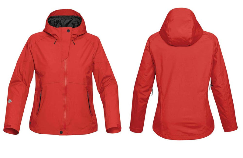 Red Rain Jackets for Women