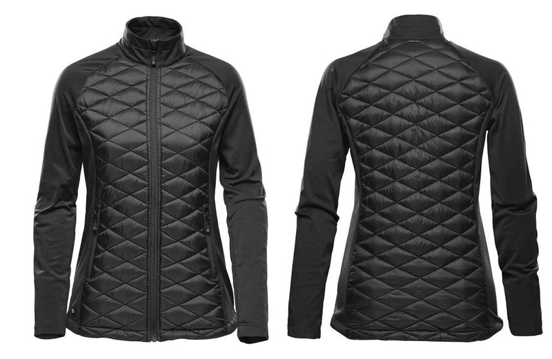 Insulated Jackets in Black for Women