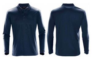 Men's Prism Performance Polo in Navy Blue