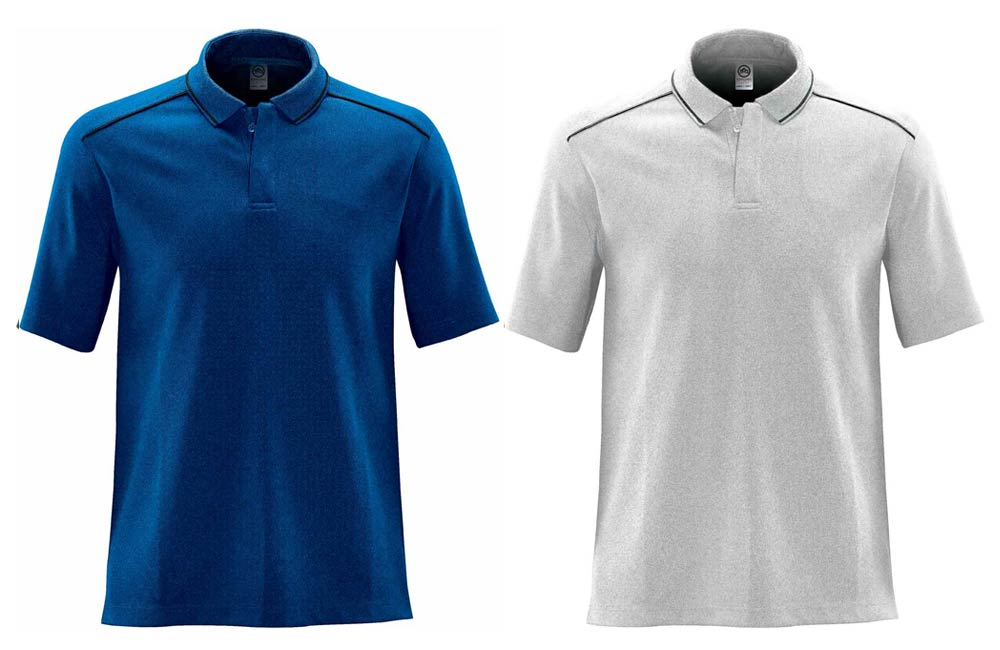 High Quality Polos with Embroidered Company Logo