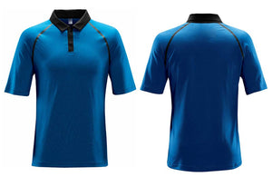 Blue Men's Neutrino Technical Polo