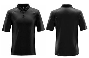 Black Breathable Golf Shirts
