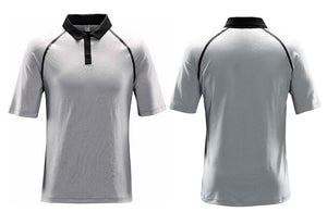 Lightweight White Sport Collared Shirt