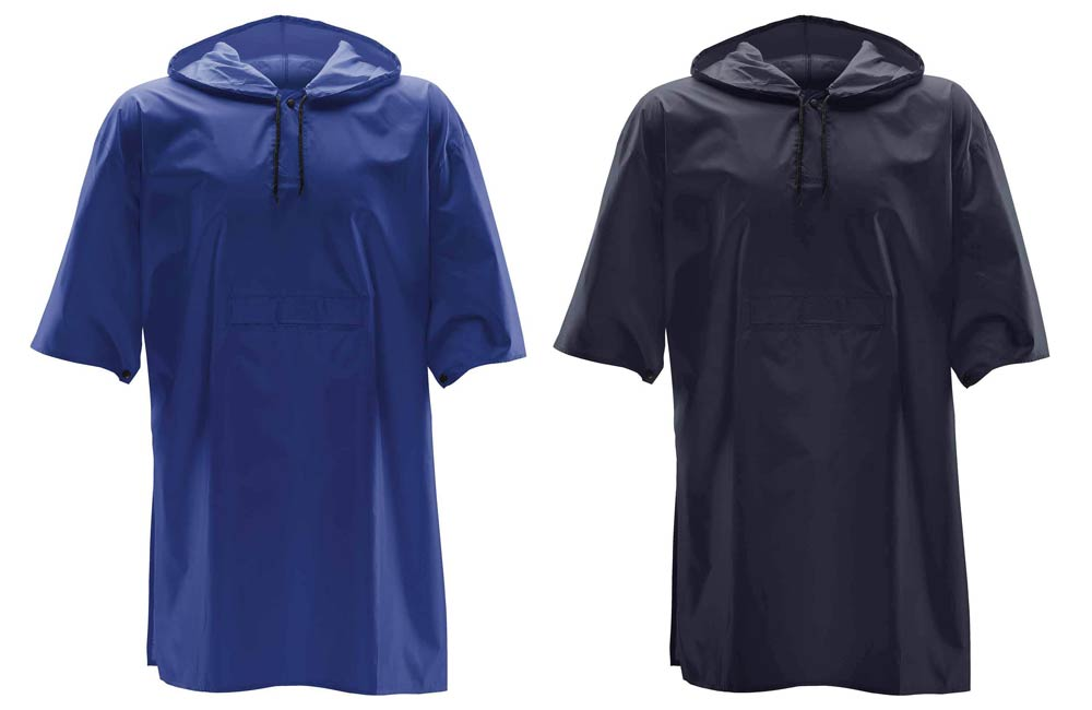 Blue and Navy Festival Ponchos