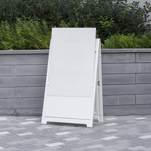 Deluxe Signicade A-Frame (White)