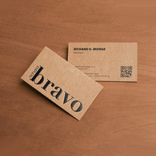 Load image into Gallery viewer, Brown Kraft Cards