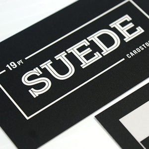 Suede Ultra Smooth Cards