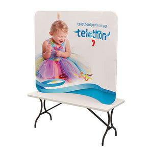 6ft Curve Tension Fabric Display