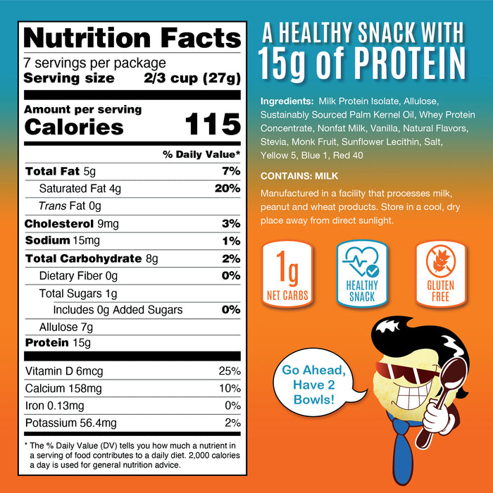 Fruity Puffs® Keto Cereal - Value Size Bag