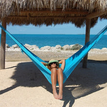 Load image into Gallery viewer, Caribbean Mayan Hammock (Light Blue) - CMHLTBL