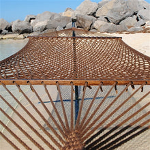 "Load image into Gallery viewer, Caribbean Rope Hammock 55"" (Mocha) - CRHM"
