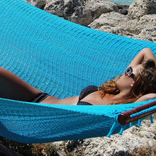 Load image into Gallery viewer, Caribbean-Jumbo-Hammock-(Light-Blue)