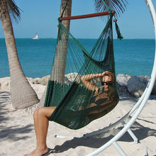 Load image into Gallery viewer, Caribbean-Large-Hammock-Chair-(Green)