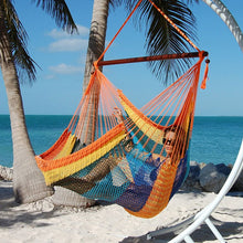 Load image into Gallery viewer, Caribbean-Large-Hammock-Chair-(Multicolor)