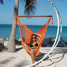 Load image into Gallery viewer, Caribbean-Large-Hammock-Chair-(Orange)
