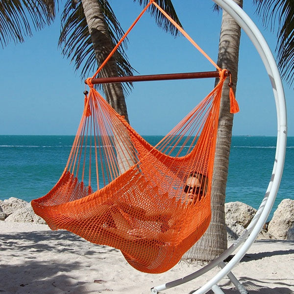 Caribbean-Large-Hammock-Chair-(Orange)