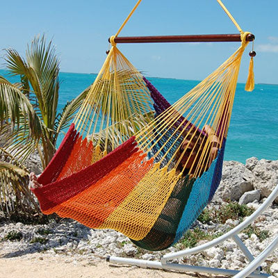 Caribbean-Large-Hammock-Chair-(Rainbow)