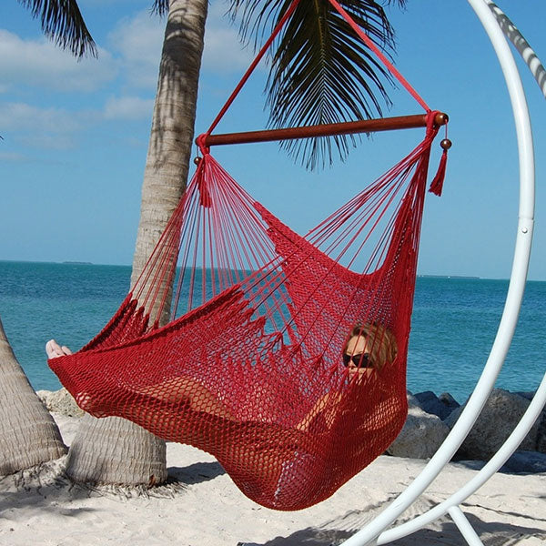 Caribbean-Large-Hammock-Chair-(Red)