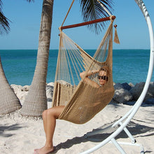 Load image into Gallery viewer, Caribbean-Large-Hammock-Chair-(Tan)