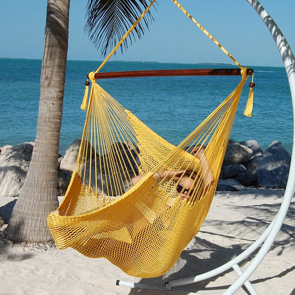 Caribbean-Large-Hammock-Chair-(Yellow)