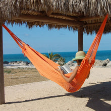 Load image into Gallery viewer, Caribbean-Mayan-Hammock-(Orange)