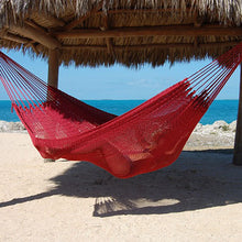 Load image into Gallery viewer, Caribbean-Mayan-Hammock-(Red)
