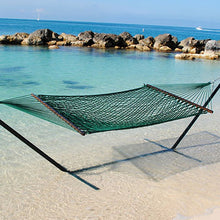 Load image into Gallery viewer, Caribbean Rope Hammock Green-Classy Hammock