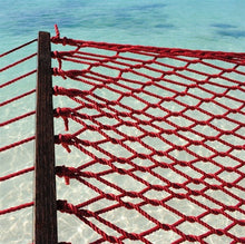 Load image into Gallery viewer, Caribbean Rope Hammock Red-Classy Hammock