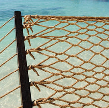 "Load image into Gallery viewer, Caribbean Rope Hammock 55"" (Tan) - CRHT"