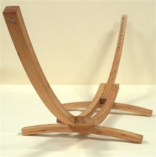 Load image into Gallery viewer, Wood Arc Hammock Stand (STAINED) - WAHS