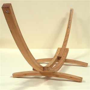 Wood Arc Hammock Stand (STAINED) - WAHS