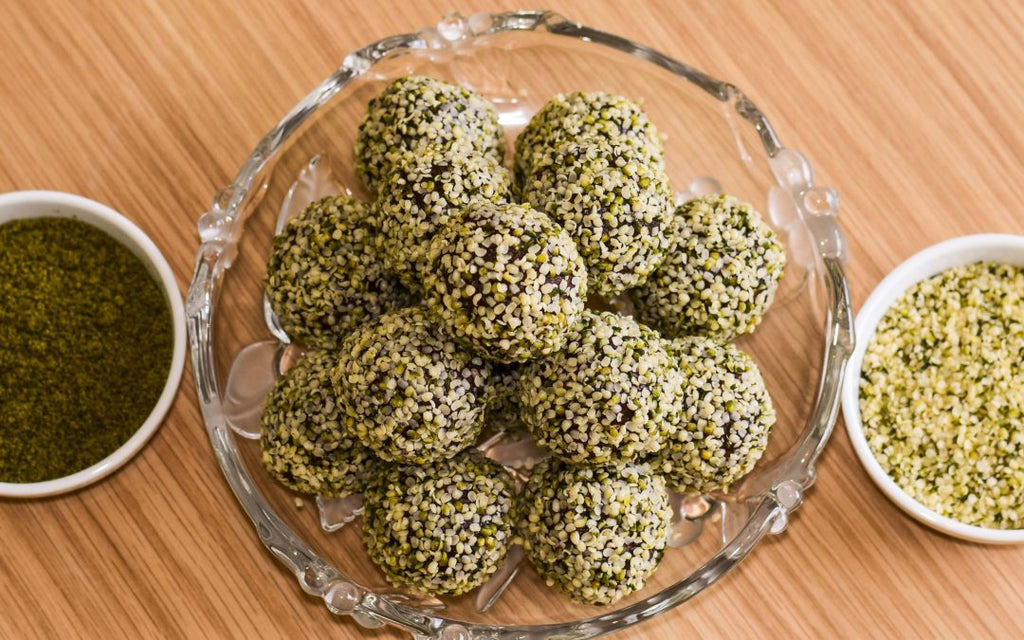 Hemp Protein Bliss Balls