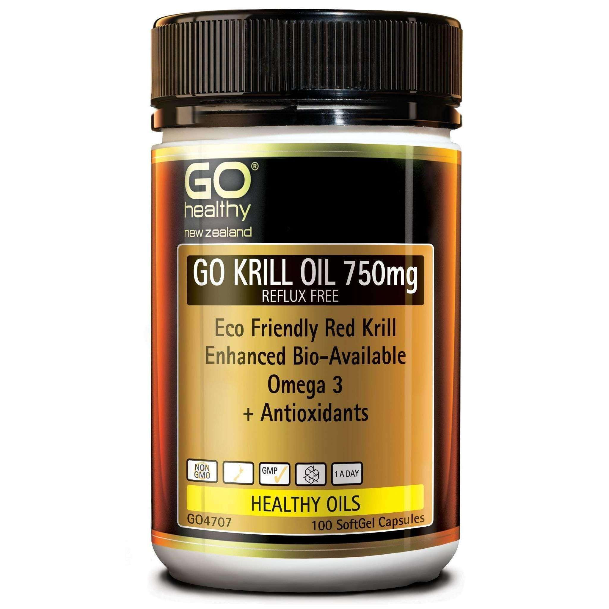 Go Healthy Go Krill Oil 750mg
