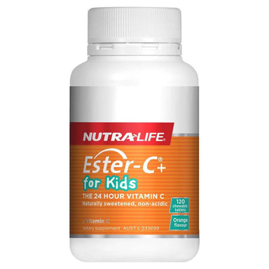 Nutra-Life Ester-C For Kids 120 Chewable Tablets