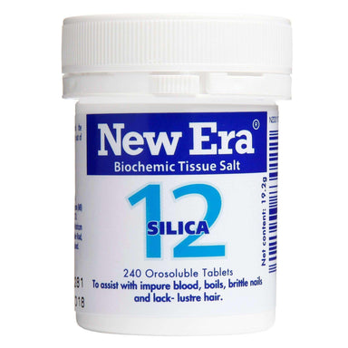 New Era New Era No.12 Silica - The Tissue Strengthener.