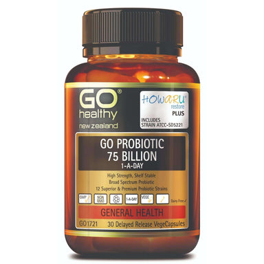 Go Healthy Go Probiotic 75 Billion