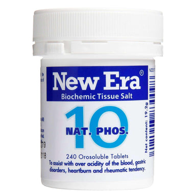 New Era New Era No.10 Nat Phos - Natural Antacid.