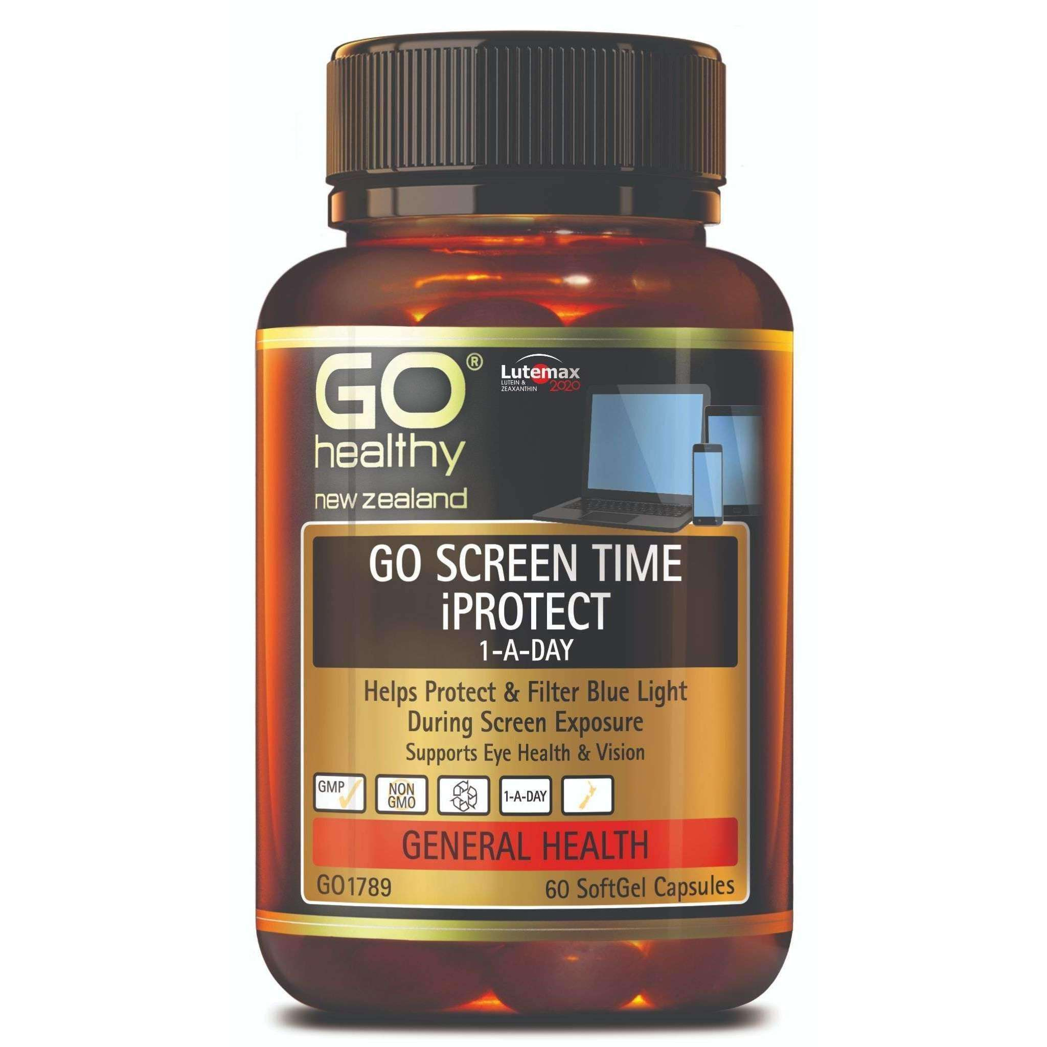 Go Healthy Go Screen Time iProtect 1-A-Day