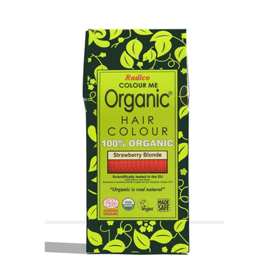Radico Organic Hair Colour - Strawberry Blonde