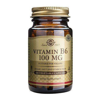 Solgar Vitamin B6 100 mg