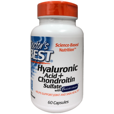 Doctor's Best Hyaluronic Acid + Chondroitin Sulfate