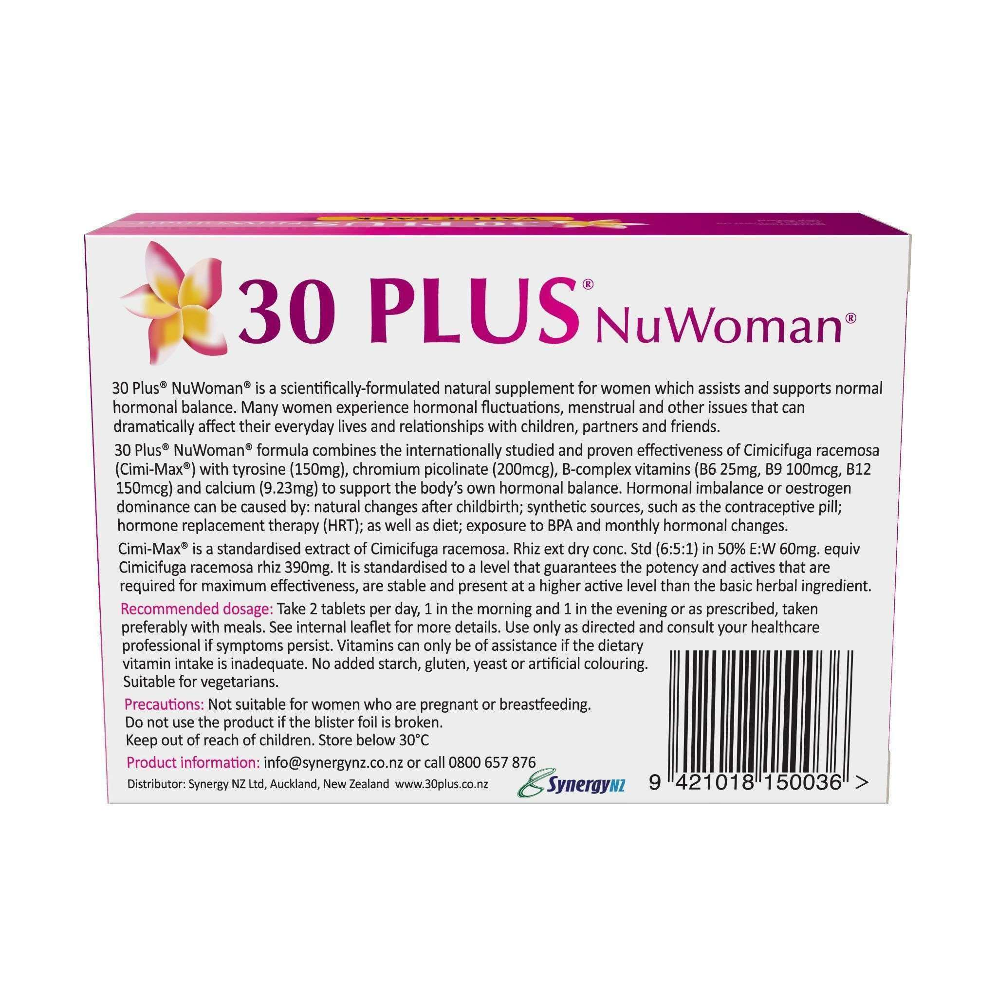 NuWoman 30 PLUS Natural Hormone Balance Support