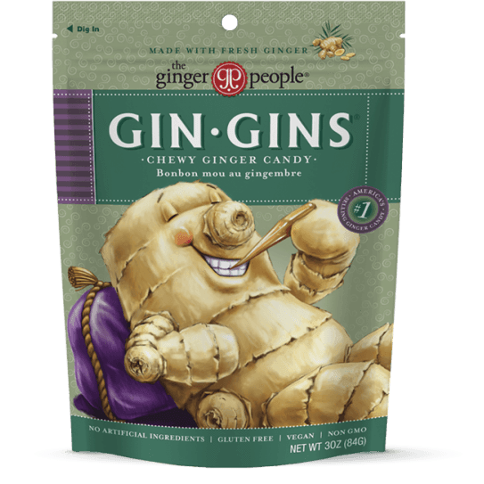 Ginger People Gin Gins Original Ginger Chews