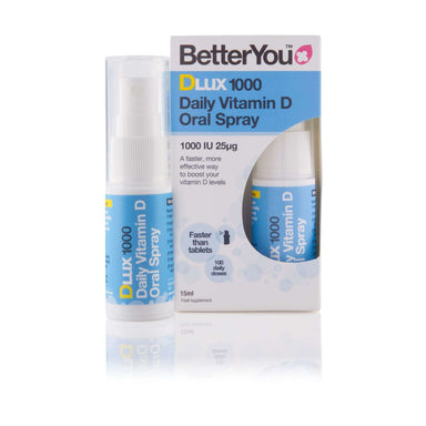 BetterYou Better You Dlux 1000 Daily Oral D3 Spray