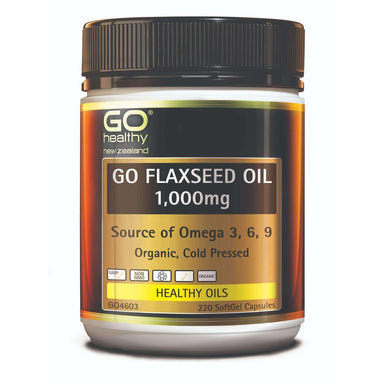 Go Healthy Go Flaxseed Oil 1,000mg