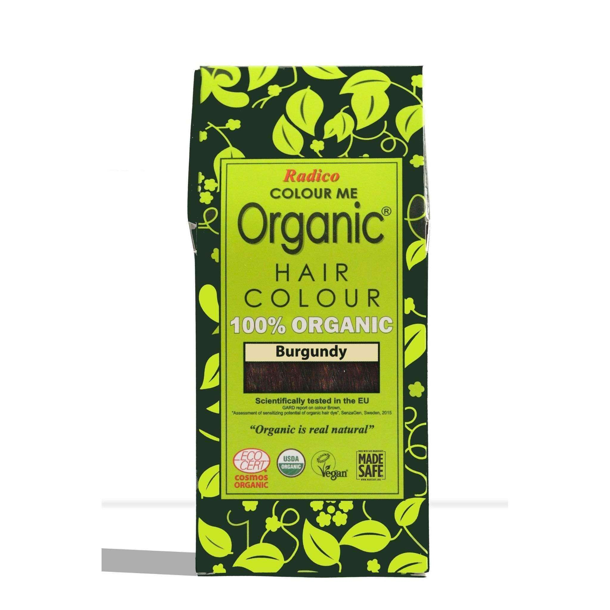 Radico Organic Hair Colour - Burgundy