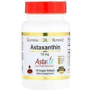 California Gold Astaxanthin Triple Strength