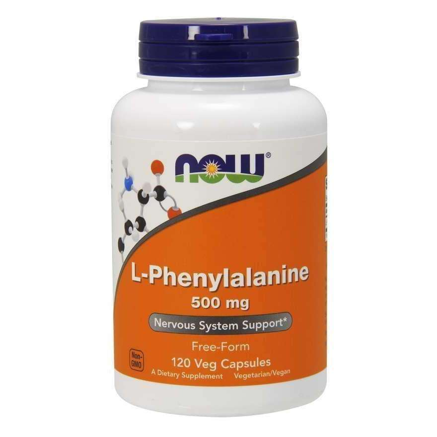 Now L- Phenylalanine 500mg