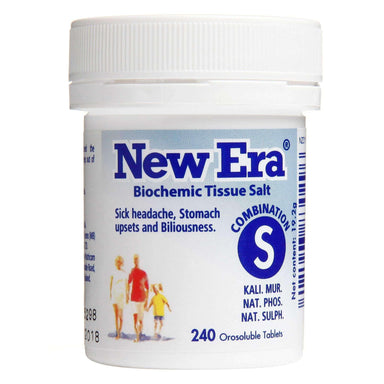 New Era New Era Comb S - Sick Headache, Stomach Upsets & Biliousness.